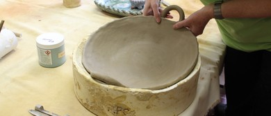 Hand Built Pottery With Philip Luxton