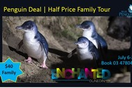 Image for event: Enchanted Blue Penguin Family Deal