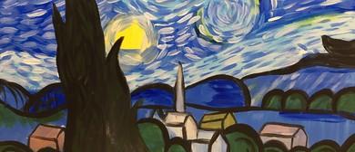 Paint and Wine Night - A Starry Night - Paintvine