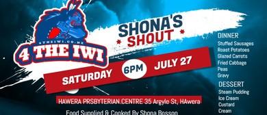 Shona's Shout - Community Meal