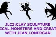 Clay Sculpture - Mythical Creatures with Jean Lonergan
