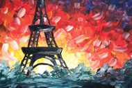 Image for event: Paint and Wine Night - A Night in Paris - Paintvine