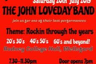 Image for event: John Loveday at Wellsford Rockers