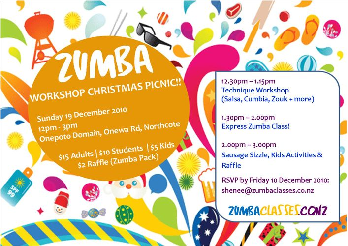 Zumba Christmas Party Images.Zumba Workshop Christmas Party Auckland Eventfinda
