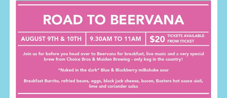 Road to Beervana : Beer - Breakfast - Band