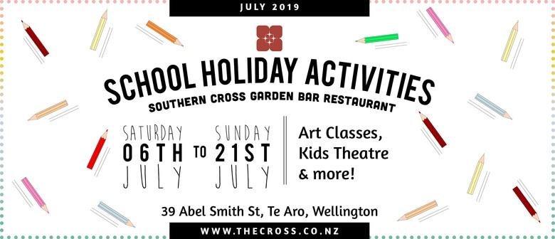 Kids School Holiday Art Classes