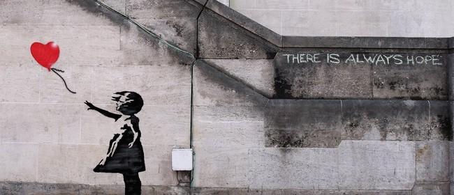 Paint and Wine Night – Banksy Ballon Girl – Paintvine