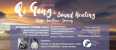 Five Immortals Qi Gong (Chi Kung) & Sound Healing Course