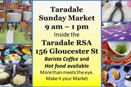 Image for event: Taradale  Sunday Market