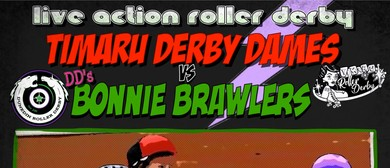 Timaru Derby Dames vs Dunedin's Bonnie Brawlers
