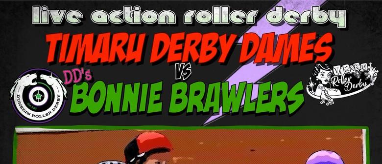 Timaru Derby Dames vs Dunedin's Bonnie Brawlers