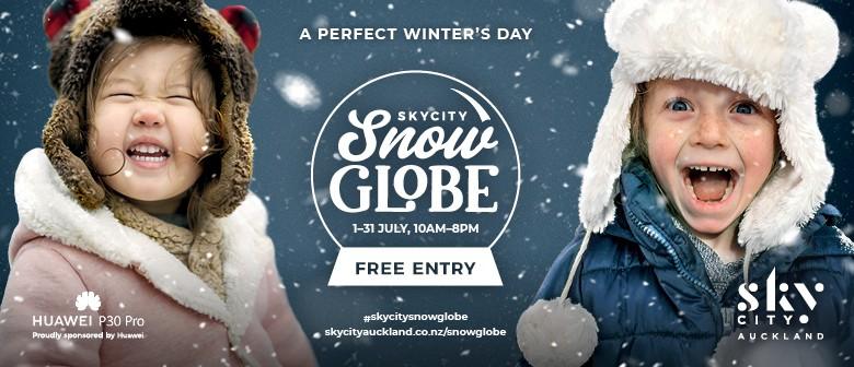 SkyCity Snow Globe