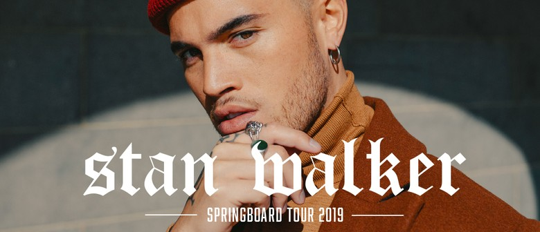 Stan Walker - Springboard Tour 2019 - Invercargill - Stuff Events