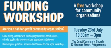 Funding Workshop for Community Organisations