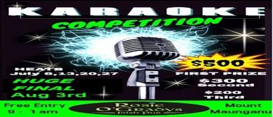 Karaoke Competition - 4 Heats