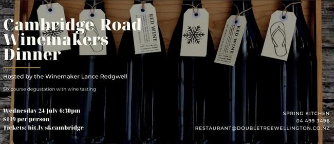 Cambridge Road Winemakers Dinner