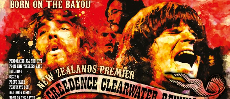 The CCR Tribute Show Born On the Bayou