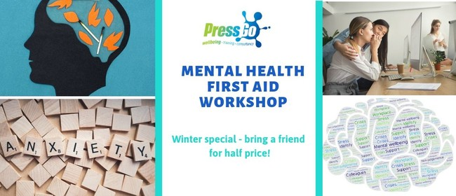 Mental Health First Aid workshop