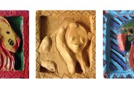 AKH3.2: Clay Relief Animal Portraits with Anna Khomko: SOLD OUT