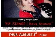 Image for event: Jan Preston Trio '88 Piano's I Have Known'