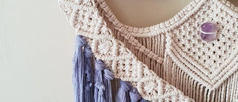 Macrame for Beginners: One Day Workshop w Heather Holland