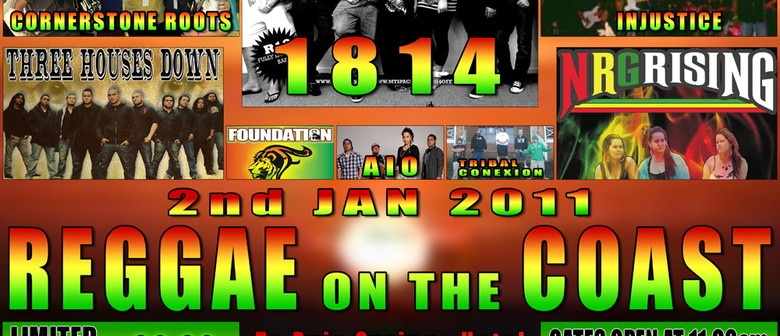 Reggae on the Coast: CANCELLED