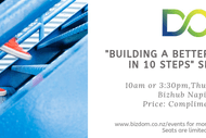 Image for event: Building a Better Business in 10 Steps - Seminar