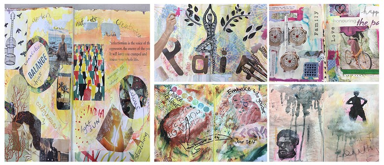 JHA3: Art Journaling with Jude Howker