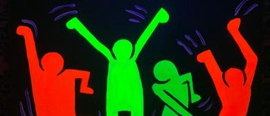 Glow In The Dark Paint Night - Boogie Woogie - Paintvine