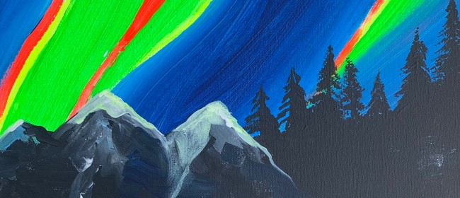 Glow In The Dark Paint Night - Electric Northern - Paintvine