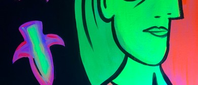 Glow In The Dark Paint Night – Glowing Picasso – Paintvine