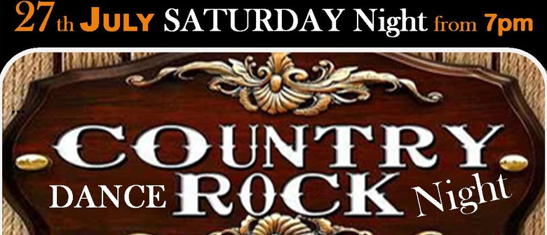 Country Rock Dance Night