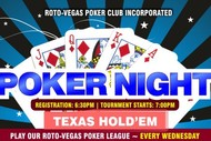 Image for event: Poker Night – Texas Hold'em Tournament