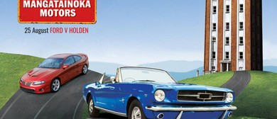 Mangatainoka Motors Ford v Holden Car Day