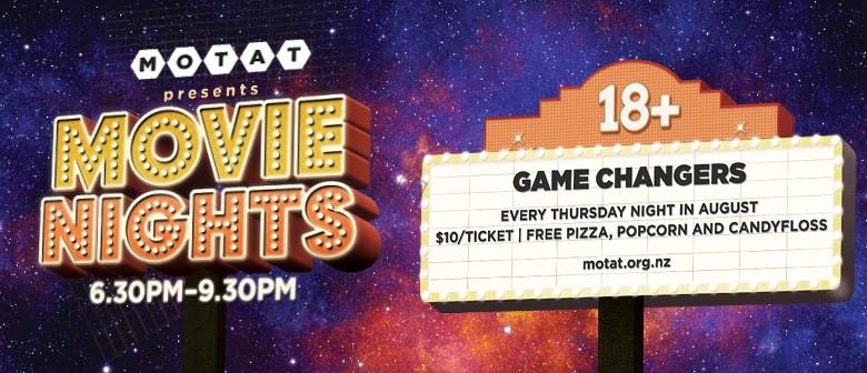 MOTAT Movie Nights: Game Changers
