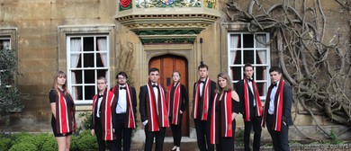The Choir of Christs College Cambridge England