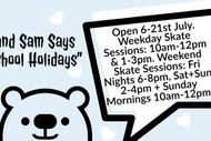 Image for event: July School Holidays Indoor Skate Party
