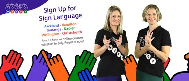 Sign Language Course - Meadowbank, East Akl
