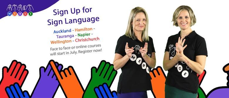 Sign Language Course - Meadowbank, East Akl