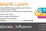 Image for event: Matariki Lunch