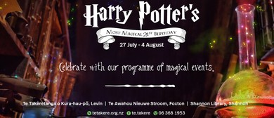 Harry Potter's Most Magical 21st B'day Diagon Alley Markets