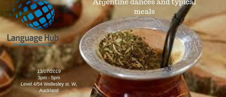 Argentine dances and typical meals