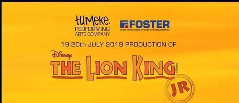 Lion King Jr Hamilton Eventfinda