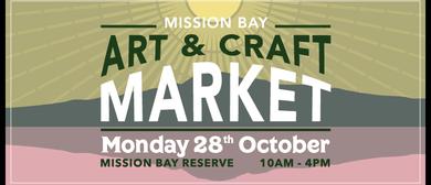 Mission Bay Art & Craft Market - Labour Day 2019