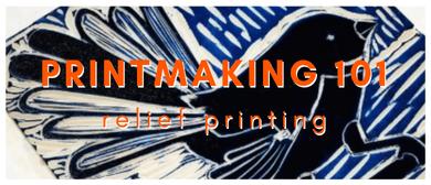 Printmaking 101: Relief Printing