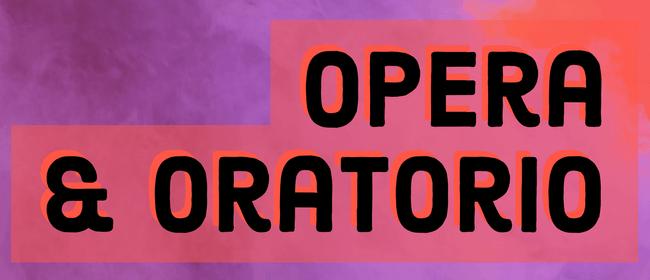 Seasoning Ensemble: Opera & Oratorio