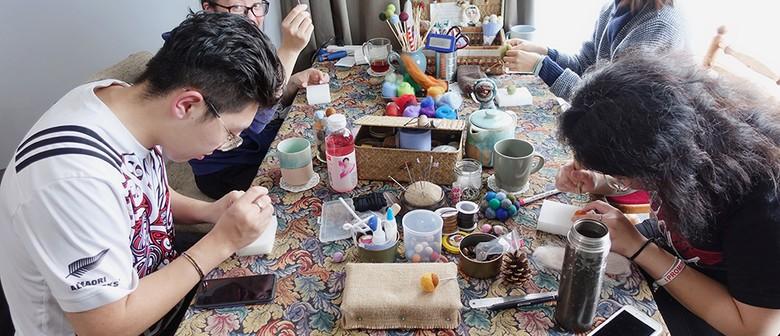 Make a Needle Felt Alpaca Or a Penguin Handcrafts
