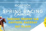 Tarzino Trophy TAB Daffodil Raceday - Bostock NZ Spring