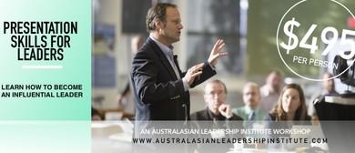Presentation Skills For Leaders: A Mark Wager Workshop