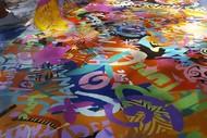 Resene Live Action Murals - Hutt Winter Festival
